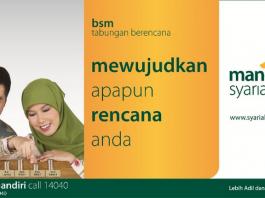 tabungan bank syariah mandiri