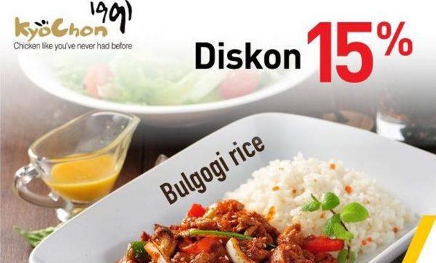 Promo Diskon Makan Menggunakan Kartu Kredit Bank Mega Di Kyochon Restaurant