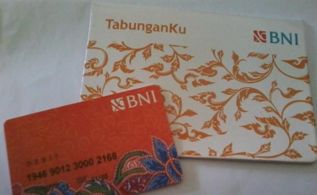 Buku Tabunganku Bank BNI