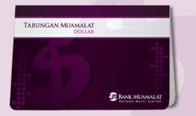 Buku Tabungan Dollar Bank Muamalat