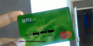 Kartu ATM Bank BRI