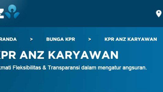 KPR Anz untuk Karyawan