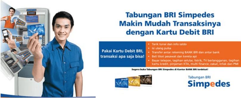 Tabungan Simpedes Bank BRI