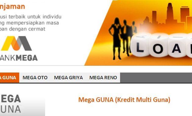 Pinjaman Multiguna Bank Mega