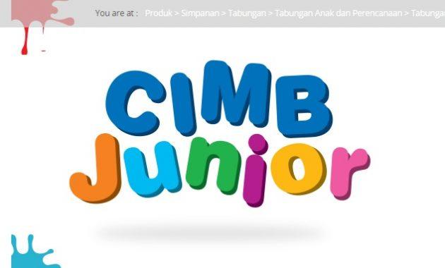 Tabungan Junior Bank CIMB Niaga