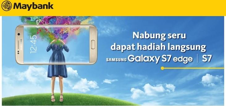 Tabungan Berhadiah HP Samsung Maybank