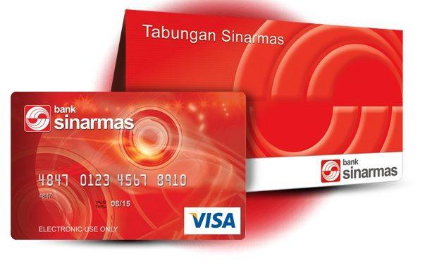Kartu ATM dan Buku Tabungan Bank Sinarmas