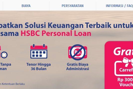 Pinjaman Tanpa Agunan HSBC Load