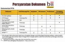 Syarat Pinjaman Bank BII