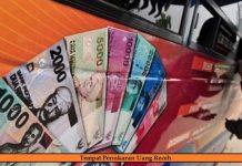 Tukar Uang Receh di Monas