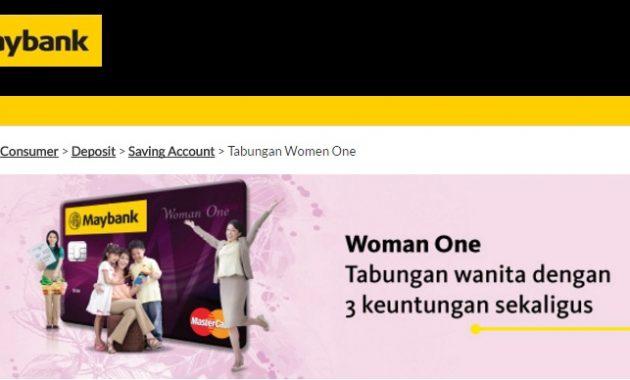 Tabungan Khusus Wanita Maybank