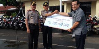Bantuan CSR Bank BRI Depok