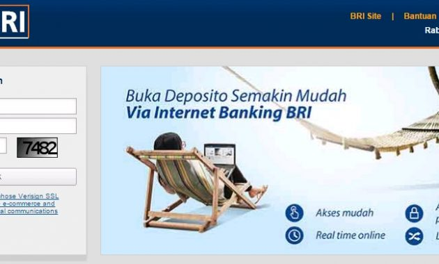 Internet Banking Bank BRI