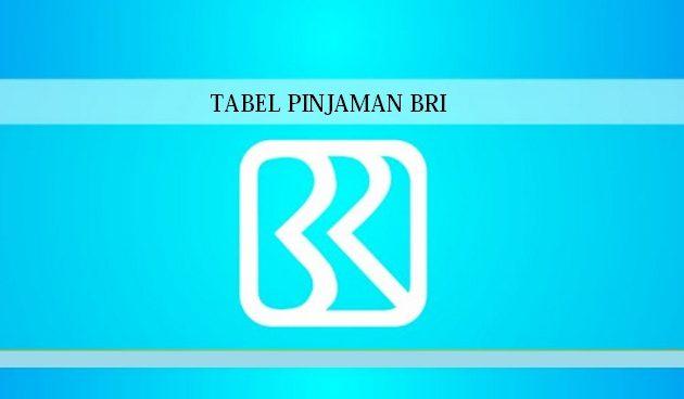 tabel-pinjaman-bri