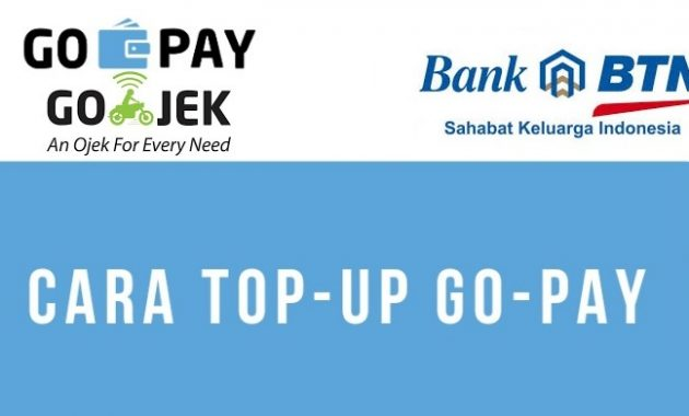 top-up-go-pay-dengan-e-banking-btn