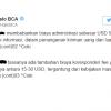 Biaya Terima Uang dari Luar Negeri di Bank BCA