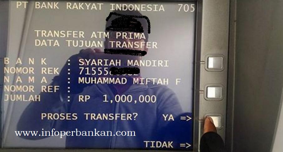 Transfer Uang dari BRI ke BSM