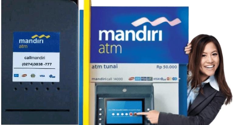 Transfer dari Mandiri ke Mandiri lewat ATM