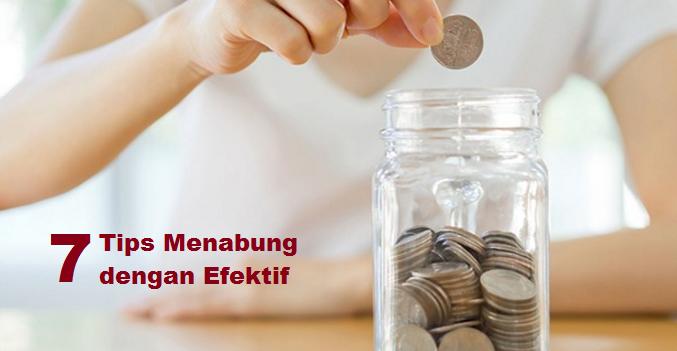tips menabung dengan efektif