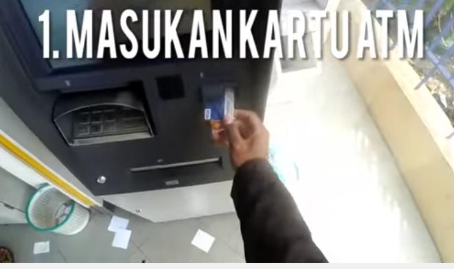 Cek Saldo Rekening Mandiri lewat ATM