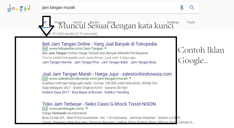 Contoh Iklan Google