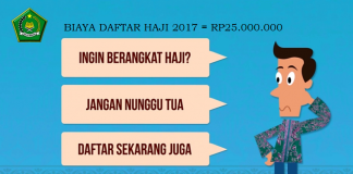 Biaya Daftar Haji 2019