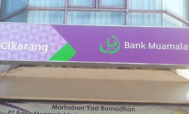 Kantor Bank Muamalat di Cikarang