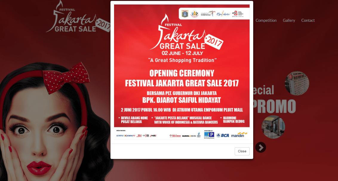 Festival Jakarta Great Sale 2017