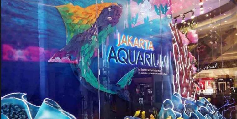 Jakarta Aquarium Raksasa di Neo Soho Mall