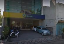 Kantor Bank Mega di Pasuruan