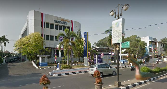 Kantor Mandiri di Palembang