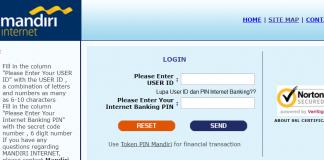 Lupa User ID dan PIN Internet Banking Mandiri