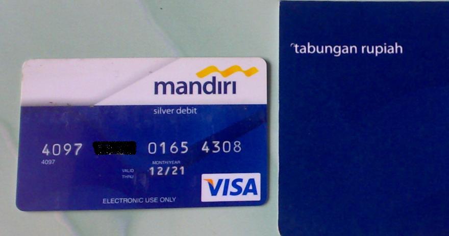 Syarat Buat Kartu ATM Mandiri