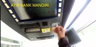 Transfer Uang lewat ATM Mandiri