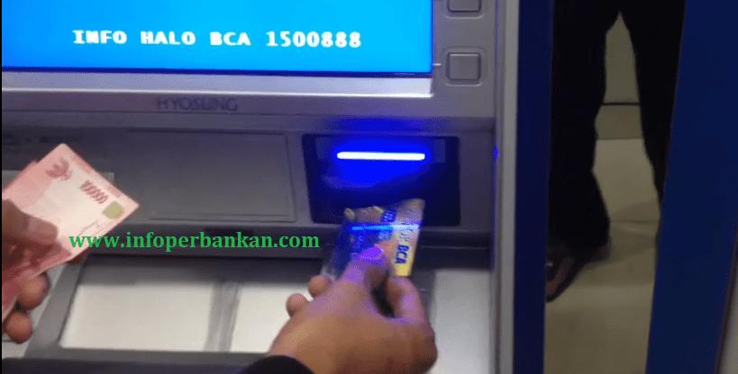 Cara Memasukan Kartu ATM BCA