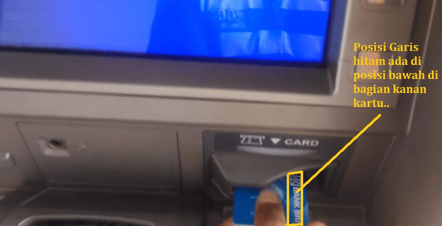 Posisi Kartu ATM