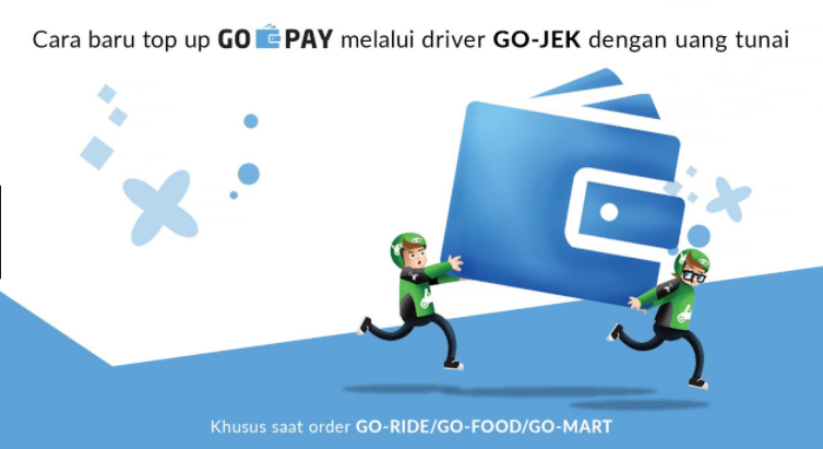 Isi GO-PAY lewat Driver