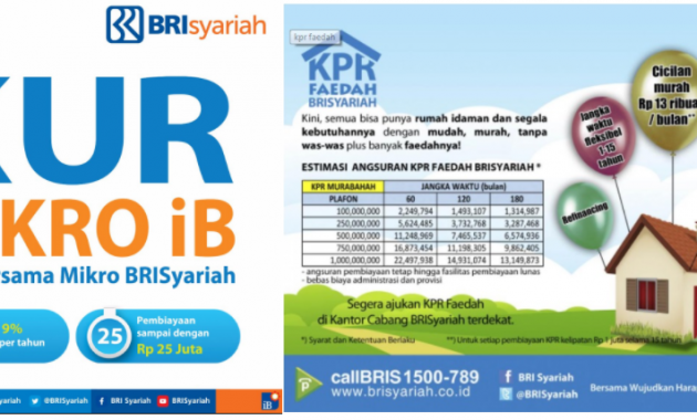KUR dan Rumah Bersubsidi BRI Syariah