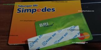 Buku Tabungan dan Kartu ATM BRI