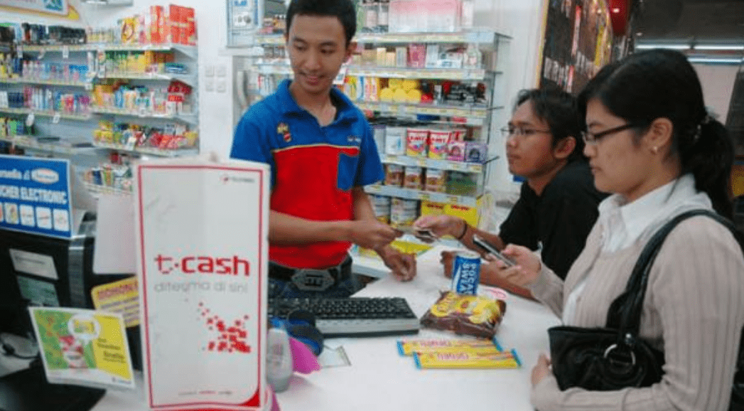 Isi Saldo TCASH Telkomsel di Indomaret