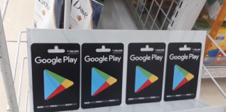 Cara Beli Voucher Google Play di Indomaret