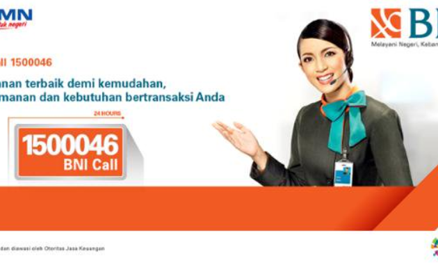 Call Center 24 Jam BNI