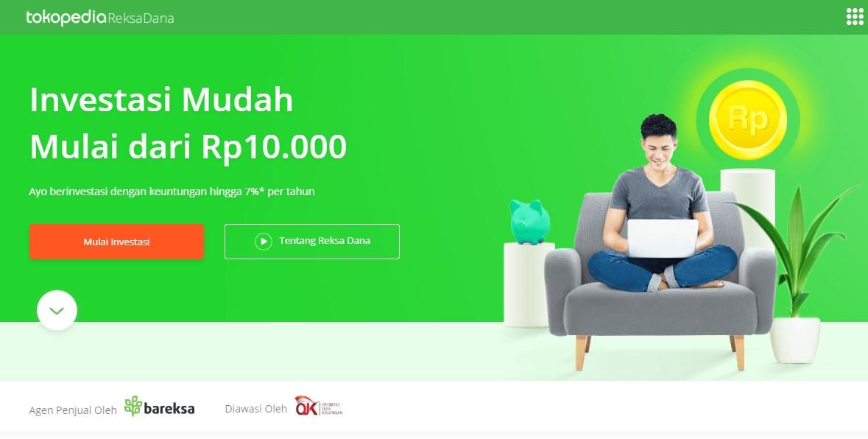Investasi Reksadana Di Tokopedia Mulai Dari Rp10 000