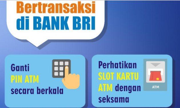 Transaksi di ATM BRI