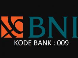 kode bank bni