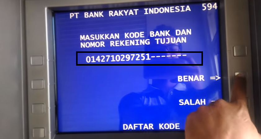 Transfer Ke Bank Lain
