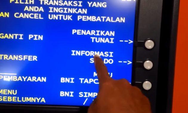 Cara Cek Saldo Tabungan BNI Lewat ATM dengan Mudah