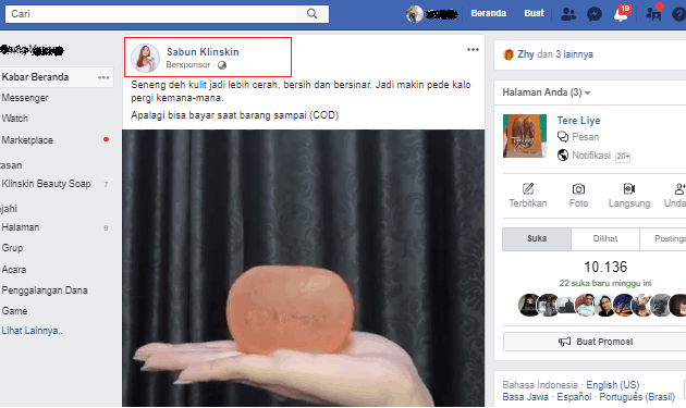 berjualan dengan cara iklan di facebook