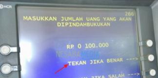 biaya transfer dari bni ke bri