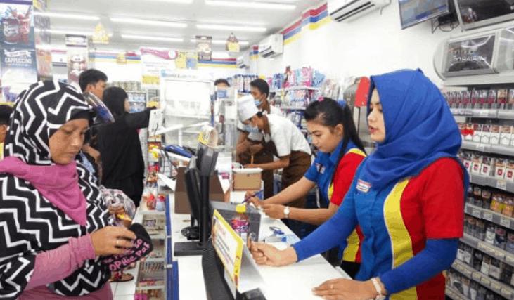 Gaji Jadi Pramuniaga Dan Kasir Di Indomaret Alfamart